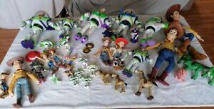 Bundle Toy Story Woody, Jessie, Buzz Lightyear, Rex, Bullseye spares or repair