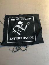 [9094 - PA1] Patch tissus pour t-shirt - coton - Punk- another victim