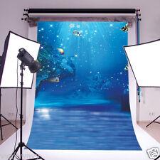 Under Water Vinyl Backdrop Photography Studio Prop Photo Background 5x7ft 4570