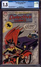 Detective Comics 233 CGC 1.5 1st Appearance of Batwoman batgirl batman
