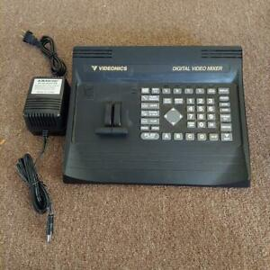1996 VIDEONICS MX-1 NTSC Digital Video Mixer w/ Power Cord
