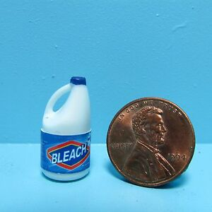Dollhouse Miniature Detailed Replica Bleach Bottle G094