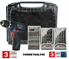 new Bosch GSB 10.8-2-Li Cordless COMBI 2 x Batteries 0615990GE2 3165140818582 #V