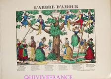 EP74 - L'ARBRE D'AMOUR - CHANSON - IMAGE D'EPINAL PELLERIN - NAPOLEON III