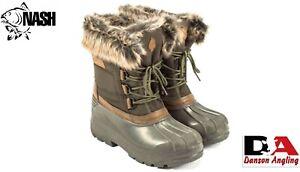 Nash ZT Polar Boots New Carp Fishing Winter Boots