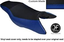 R personalizado de Vinilo Azul y Negro Para Honda CB 900 F Hornet 02-09 Doble Cubierta de asiento solamente