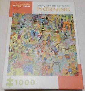 MORNING Pomegranate Artpiece Jigsaw Puzzle 1000 Pc, Artist Kathy DeZarn Beynette