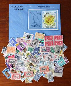 Falkland Islands. Mint & used selection.