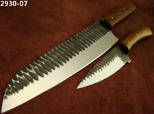 Alistar Set of 2 Handmade Carbon Steel Slicing/ Kitchen/Chef's Knives (2930-7