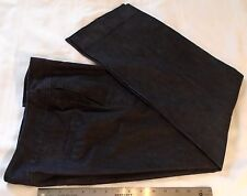 Fashion Bug Women's Jeans Size 6 Straight Leg Cotton Blend Black FREE SHIPPING!
