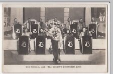 Musicians; Bob Thomas & The Variety Accordion Aces RP PPC, Unposted, c 1930's