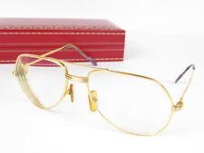 Authentic Cartier Glasses Eyeglasses FRAME Prescription 135 r1232