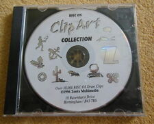 New, unused, Zenta Multimedia Clipart Collection CD for Acorn RISC OS computers