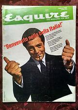 ESQUIRE February 1965 EUROPE FRANCOISE SAGAN KENNETH TYNAN MARCELLO MASTROIANNI