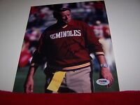 BOBBY BOWDEN Signed FLORIDA STATE SEMINOLES 8x10 Photo PSA/DNA GREAT GIFT