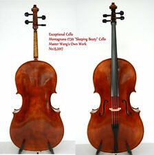 Exceptional Cello!Montagnana1739 Sleeping Beauty Cello!Master's Own Work No.15
