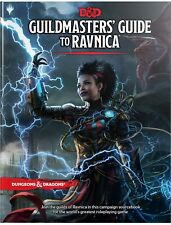Dungeon & Dragons D&D 5th Edition Guildmaster's Guide to Ravnica MTG RPG