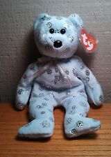 "Ty Beanie Baby Original ""Flaky"" Bear 2002 Retired"