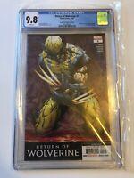 Return of Wolverine #1 2nd print error Star Wars Doctor Aphra #25 CGC 9.8
