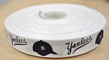 5 Yard of New York Yankees Grosgrain Ribbon-7/8 inch