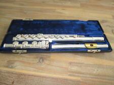 Gemeinhardt KG Special Solid Silver Gold Lip Flute W/ Case