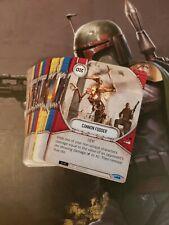 Star Wars Destiny Complete Common Set 57 Cards - Awakenings