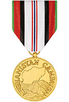 Afghanistan Campaign Medal Anodized