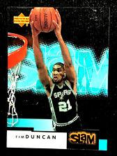 TIM DUNCAN ~ 2000 Upper Deck SLAM #49  ~  2O2O NBA HALL OF FAME INDUCTEE