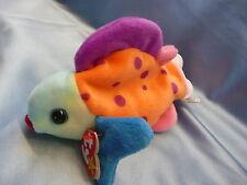 Neu Bean Bags Beanie Babys TY Lips Fisch 1999 aus Sammlung