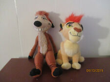 Disney Lion King Simba And Timon Meerkat Plush Figure Beanie