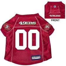 NFL San Francisco 49ers Pet Jersey With Patch Small Burgundy cc4934331