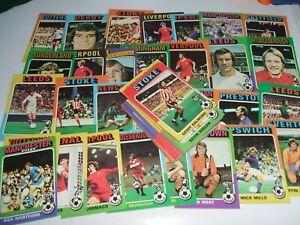 1970 TUPPS FOOTBALL CARDS ALL DIFFERENT NICE UNUSED
