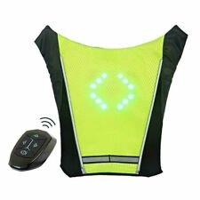 Condor Lightup Reflective 4CWG5 Universal Size Blue Safety Vest LED Light