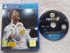 FIFA 18 PS4 PLAYSTATION 4 V.G.C. FAST POST ( realistic football/simulation )