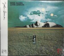CD ♫ Compact disc **JOHN LENNON ♦ MIND GAMES** nuovo sgillato Digipack