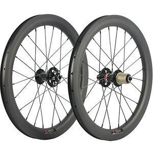 20Inch BMX Bike Carbon Wheelset 406 Rim Clincher 38mm Carbon Wheels 25mm U Shape