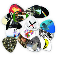 Rock Iconic and Famous Classic Albums Guitar Picks Collection