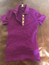 burberry Brit Women Haymarktet purple Check Shirt XS XSMALL