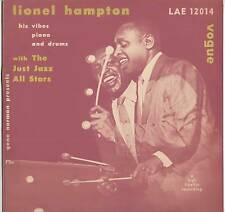 "LIONEL HAMPTON ~ ""JUST JAZZ"" ~ 1955 UK 6-TRACK LP RECORD ~ VOGUE LAE 12014"