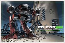 Jason Edmiston RoboCop ED-209 Mondo A Rogues Gallery Solo Signed #132 of 225