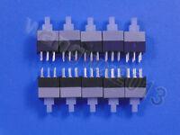 10pcs 8.5x8.5mm 6-PIN Micro Latching Self-locking Vertical Push Button Switch