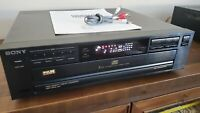 Sony CDP-C211 CD 5-disc Compact Disc Player Excellent Condition WORKS 1991