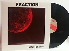 """FRACTION MOON BLOOD 2010 1st OFFICIAL REISSUE MEXICAN SUMMER w/10"""" EP &DOWNLOAD"""