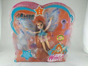Winx Club Bloom Glam Magic Enchantix Doll WITH BOX 2007 MATTEL RARE