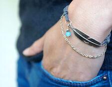 Casual Feather bracelet Boho (handmade)