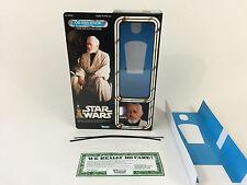 """custom Star wars 12"""" obi-wan kenobi jedi training box + inserts"""