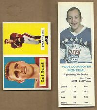 1969  DAD'S COOKIES  HOCKEY  YVAN  COURNOYER    NEAR MINT