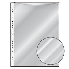 100 Prospekthüllen / DIN A4 / glasklar