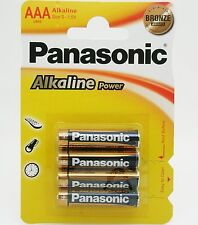 PILA ALCALINA PANASONIC LR03 (AAA) BLISTER DE 4 UDS. -CAJA DE 12X4 PILAS (48 UD
