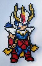 Ikki (Saint Seiya)- Bead sprite perler pixel art - Perles à repasser